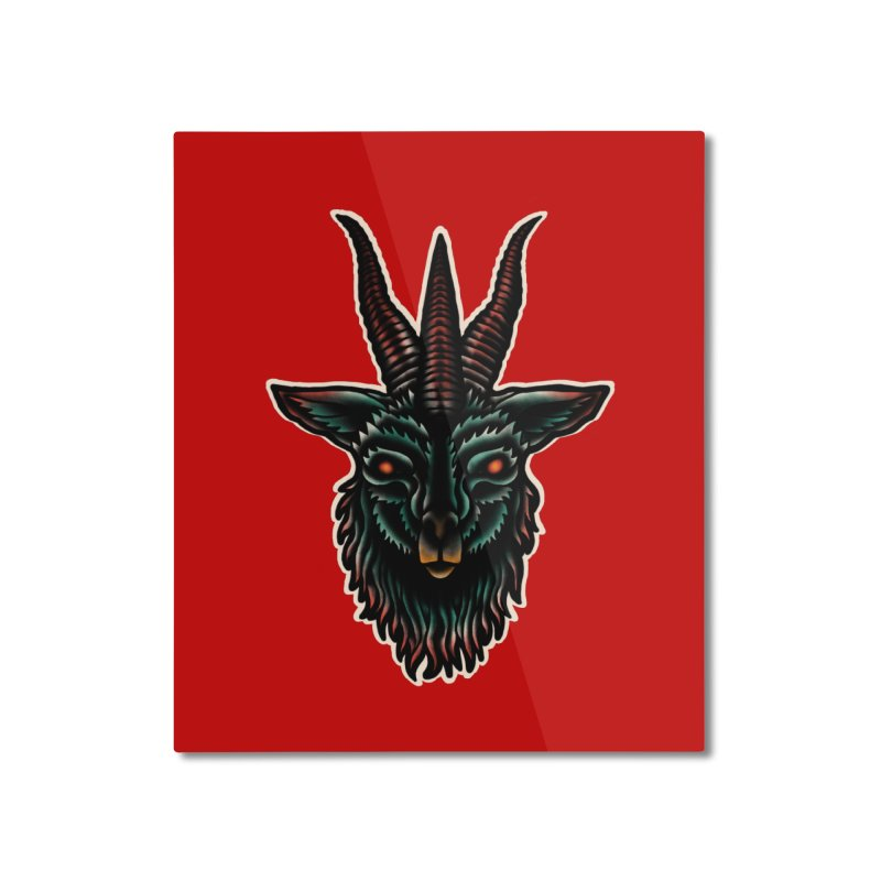 The omen Home Mounted Aluminum Print by barmalisiRTB