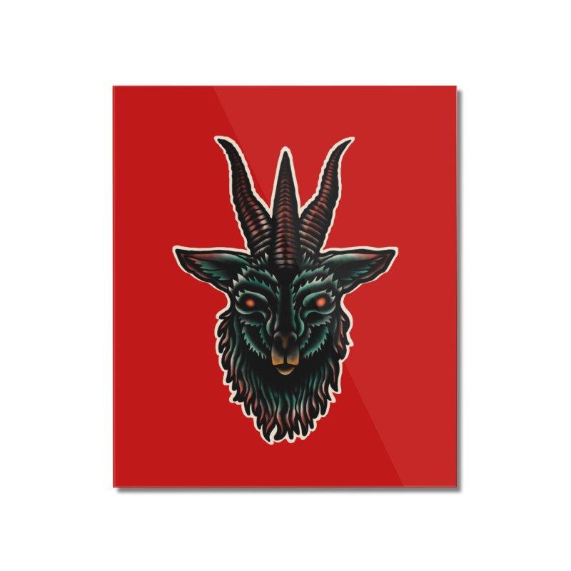 The omen Home Mounted Acrylic Print by barmalisiRTB