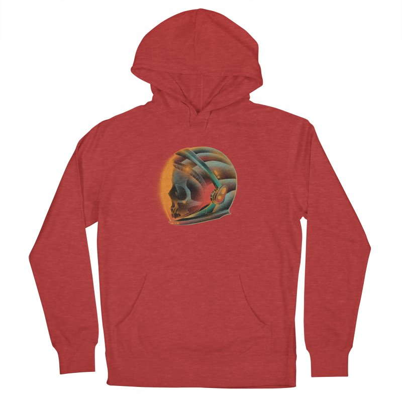 Eternal astronaut Women's French Terry Pullover Hoody by barmalisiRTB