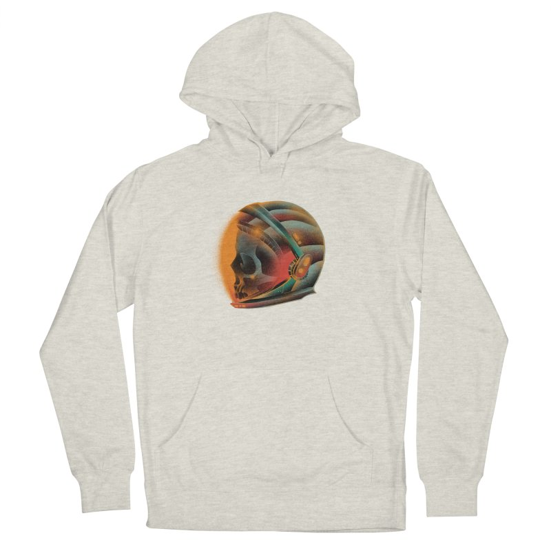 Eternal astronaut Men's French Terry Pullover Hoody by barmalisiRTB
