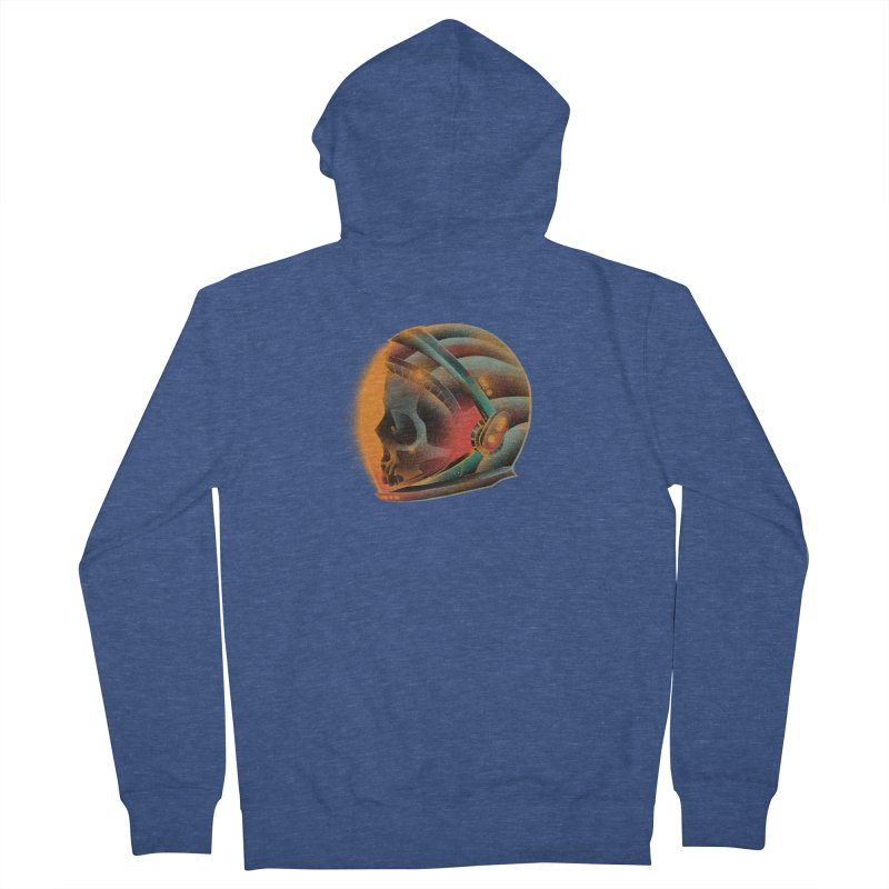 Eternal astronaut Men's French Terry Zip-Up Hoody by barmalisiRTB