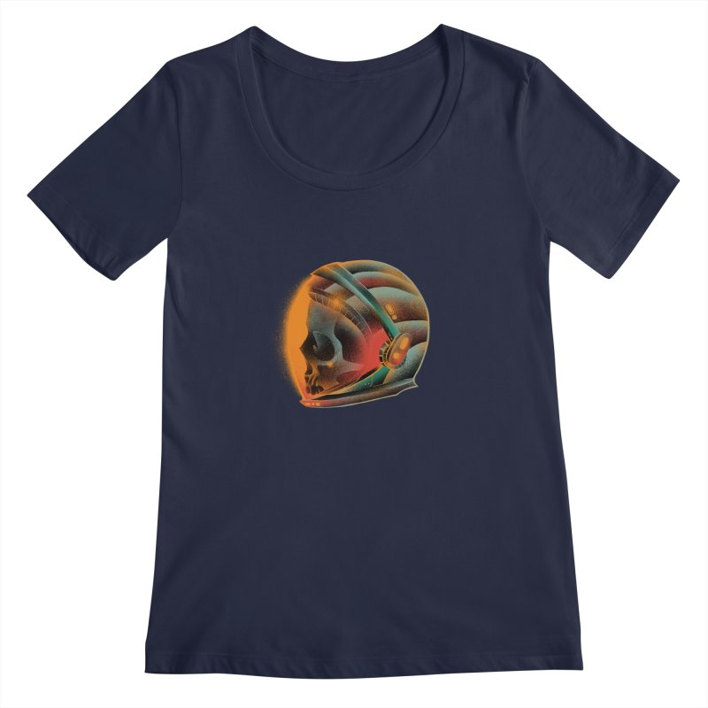 Eternal astronaut Women's Regular Scoop Neck by barmalisiRTB