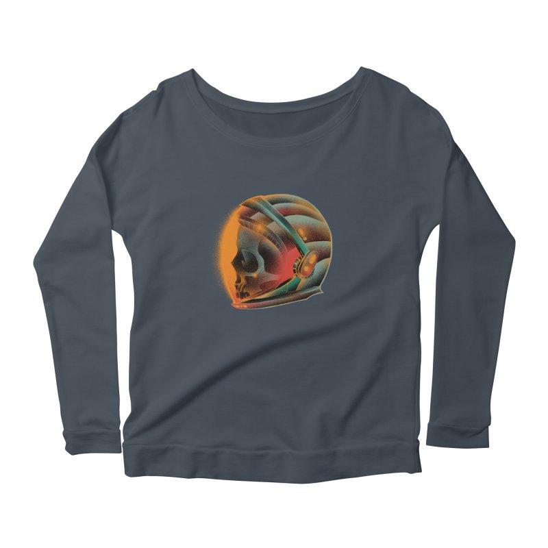 Eternal astronaut Women's Scoop Neck Longsleeve T-Shirt by barmalisiRTB