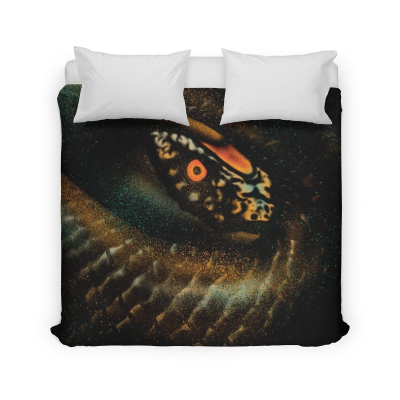 Hunting detect Home Duvet by barmalisiRTB