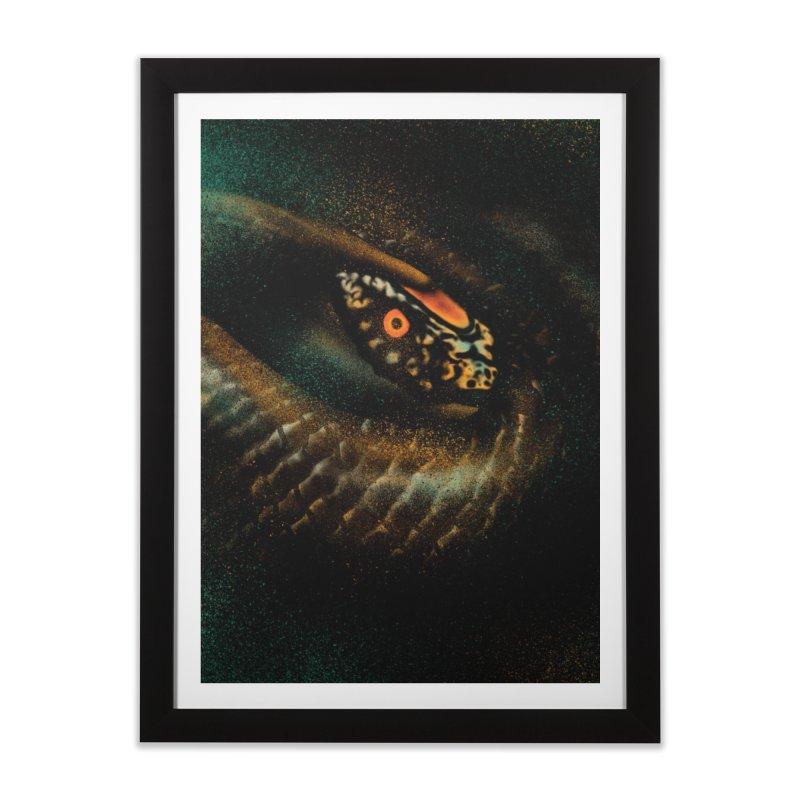 Hunting detect Home Framed Fine Art Print by barmalisiRTB