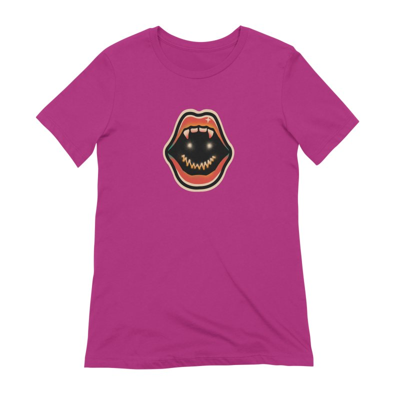 mouth mystery Women's Extra Soft T-Shirt by barmalisiRTB