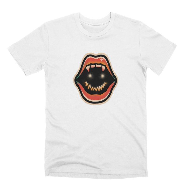 mouth mystery Men's Premium T-Shirt by barmalisiRTB