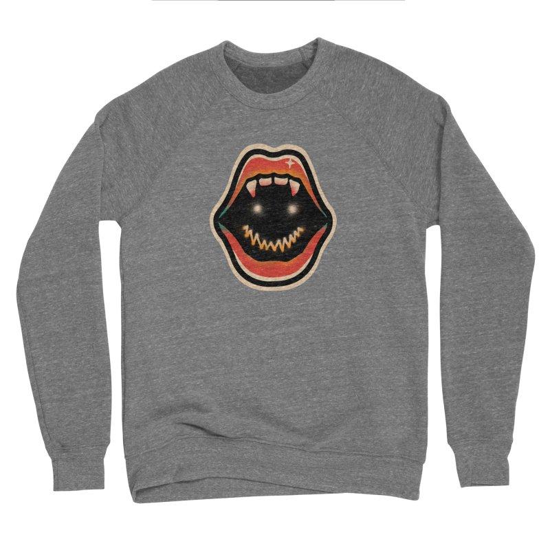 mouth mystery Women's Sponge Fleece Sweatshirt by barmalisiRTB
