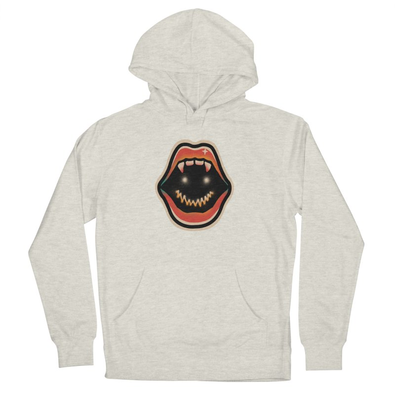 mouth mystery Men's French Terry Pullover Hoody by barmalisiRTB