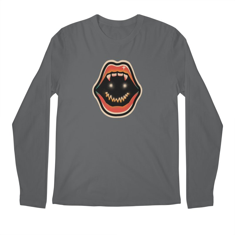 mouth mystery Men's Regular Longsleeve T-Shirt by barmalisiRTB