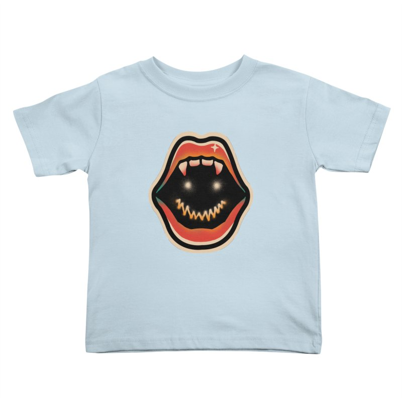 mouth mystery Kids Toddler T-Shirt by barmalisiRTB