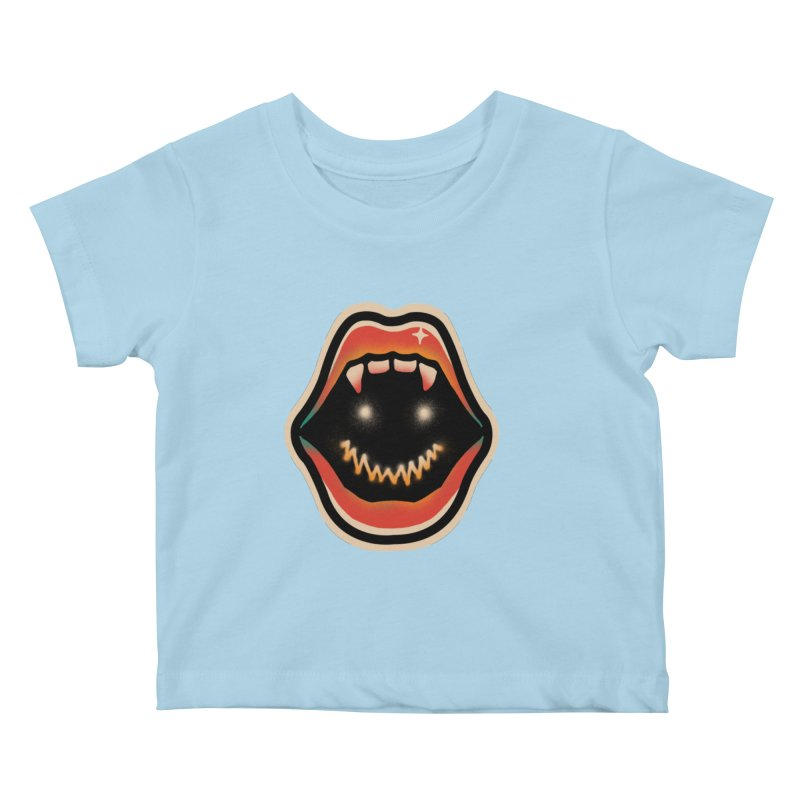 mouth mystery Kids Baby T-Shirt by barmalisiRTB