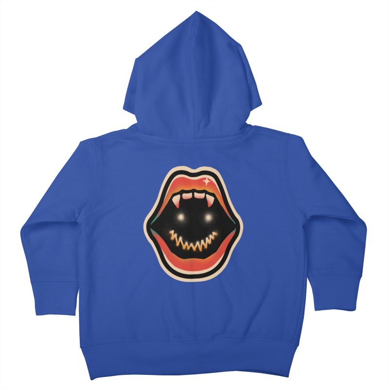 mouth mystery Kids Toddler Zip-Up Hoody by barmalisiRTB