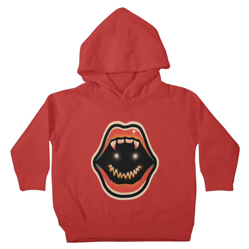 mouth mystery Kids Toddler Pullover Hoody by barmalisiRTB