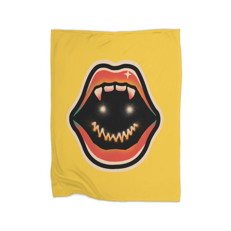 mouth mystery Home Blanket by barmalisiRTB
