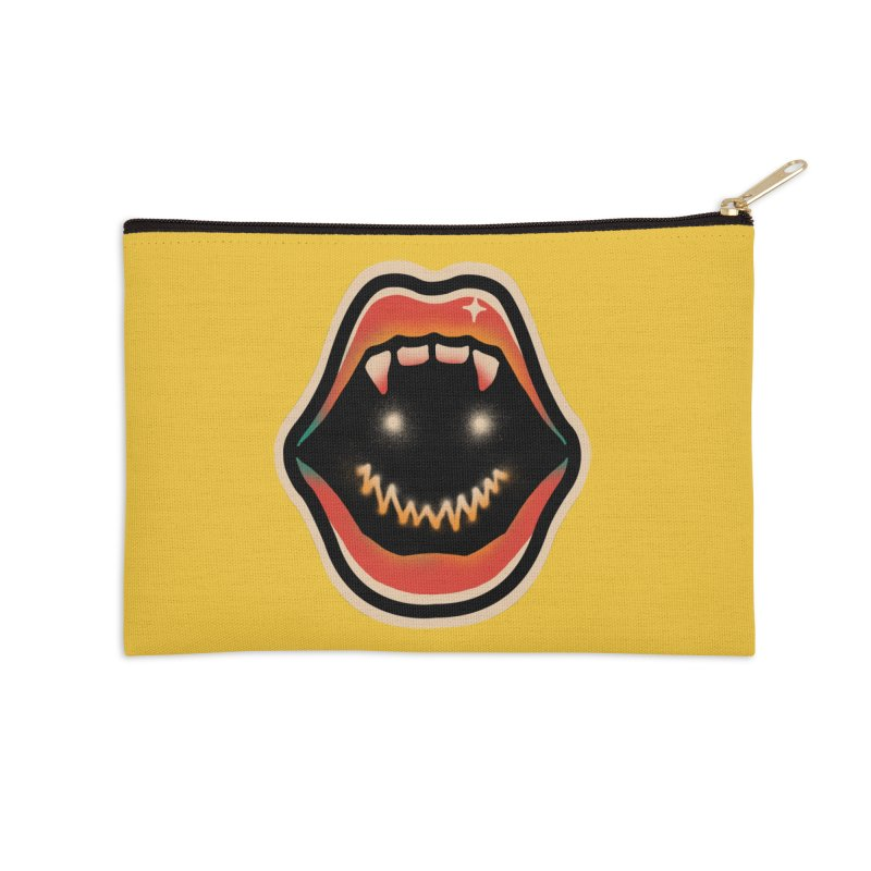 mouth mystery Accessories Zip Pouch by barmalisiRTB