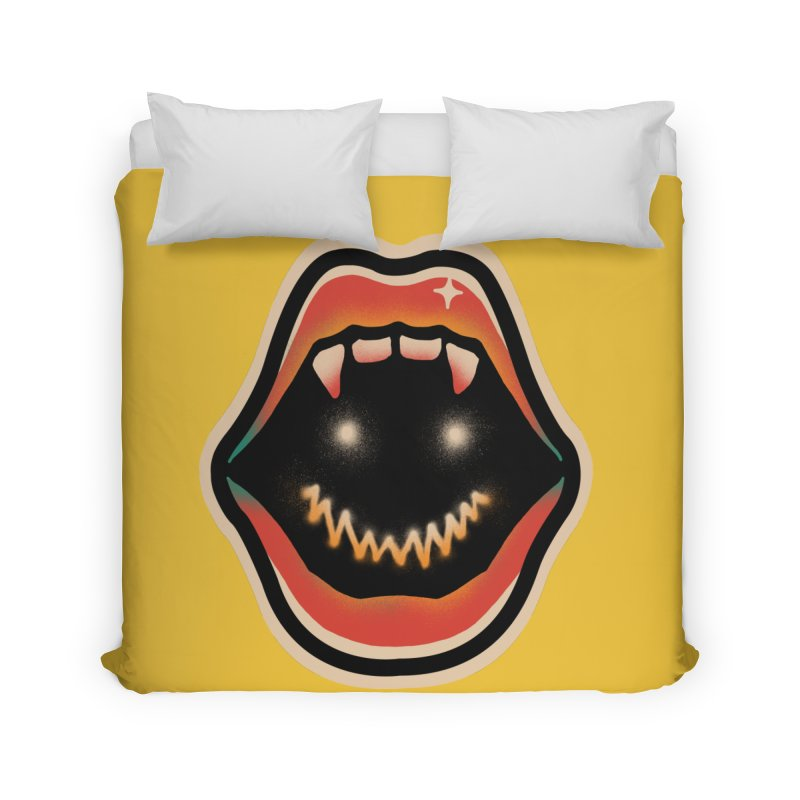 mouth mystery Home Duvet by barmalisiRTB