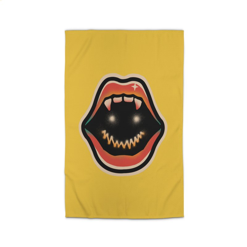 mouth mystery Home Rug by barmalisiRTB