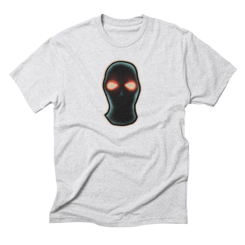maschera malvagia Men's Triblend T-Shirt by barmalisiRTB