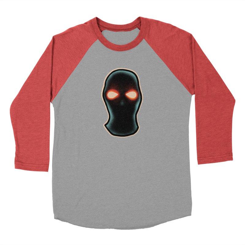 maschera malvagia Women's Baseball Triblend Longsleeve T-Shirt by barmalisiRTB