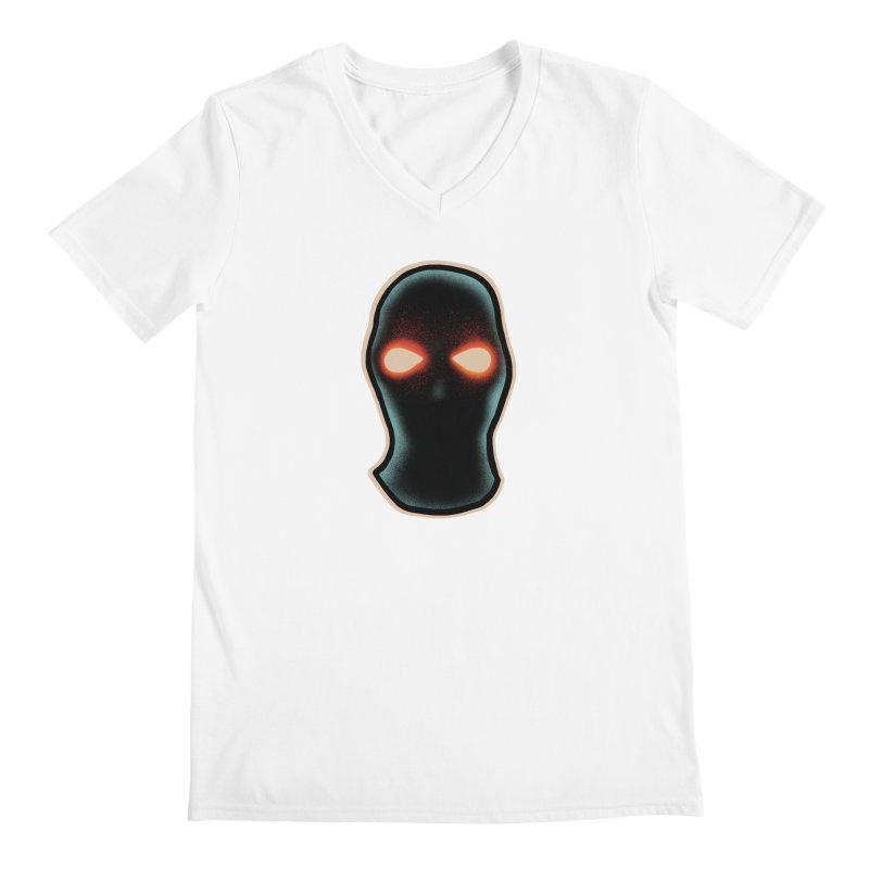 maschera malvagia Men's Regular V-Neck by barmalisiRTB