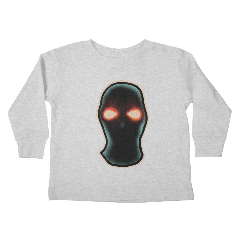 maschera malvagia Kids Toddler Longsleeve T-Shirt by barmalisiRTB