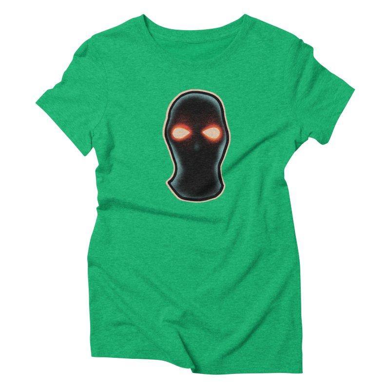 maschera malvagia Women's Triblend T-Shirt by barmalisiRTB