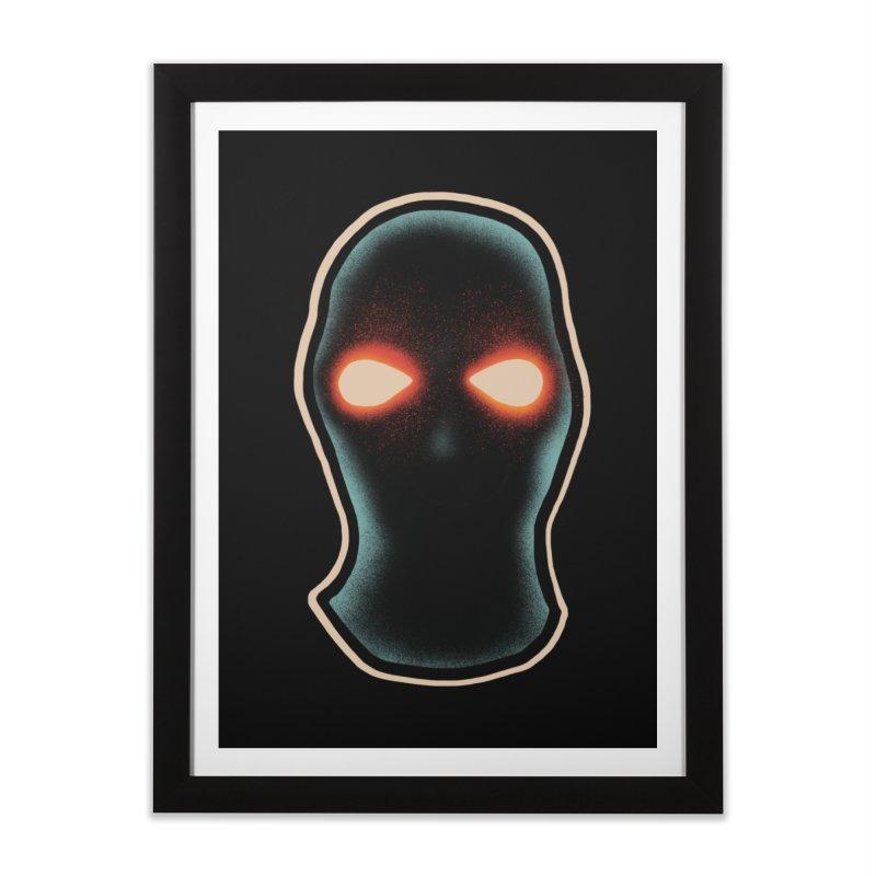 maschera malvagia Home Framed Fine Art Print by barmalisiRTB