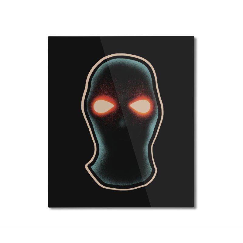 maschera malvagia Home Mounted Aluminum Print by barmalisiRTB