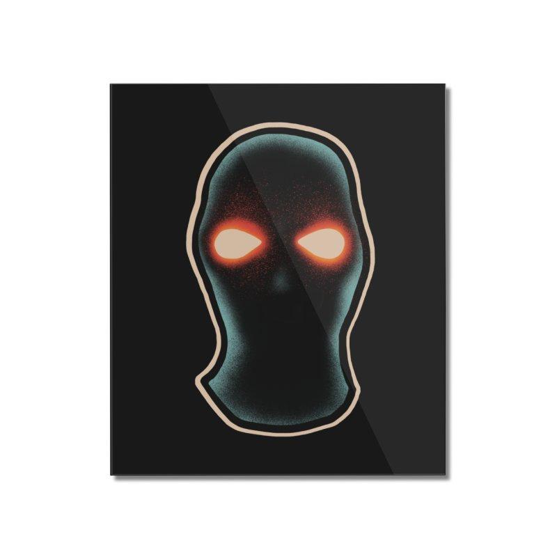 maschera malvagia Home Mounted Acrylic Print by barmalisiRTB