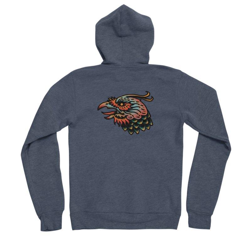 Crow spirit Men's Sponge Fleece Zip-Up Hoody by barmalisiRTB