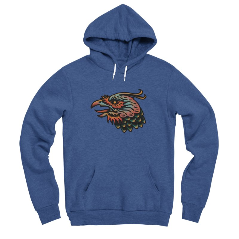 Crow spirit Men's Sponge Fleece Pullover Hoody by barmalisiRTB