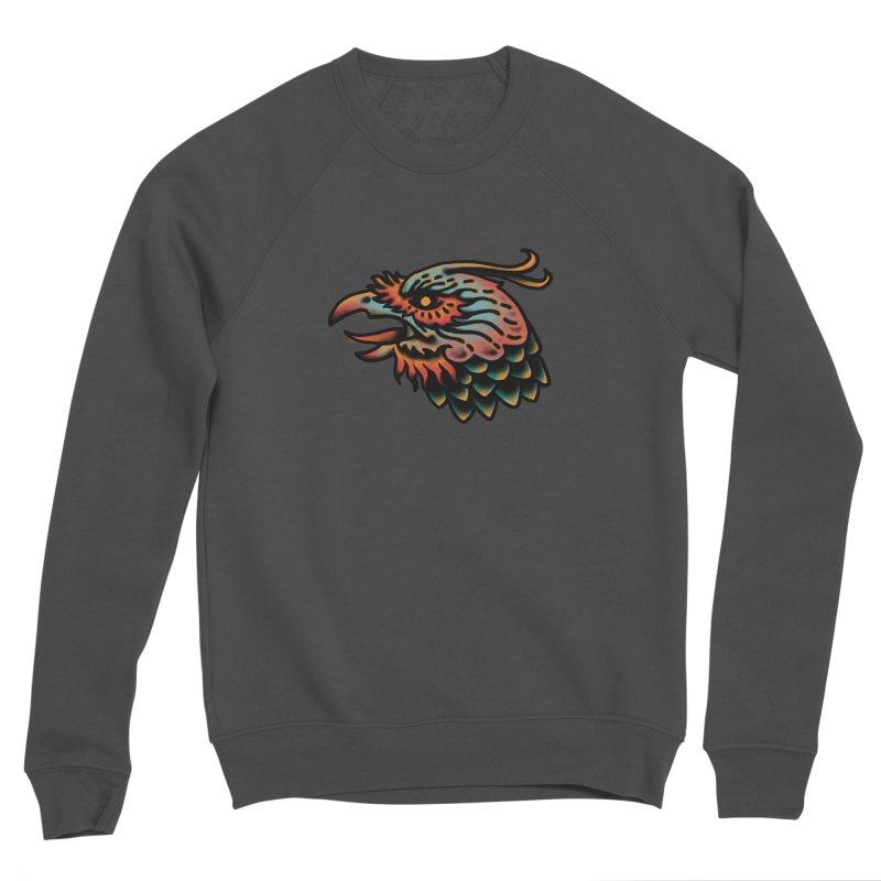 Crow spirit Men's Sponge Fleece Sweatshirt by barmalisiRTB