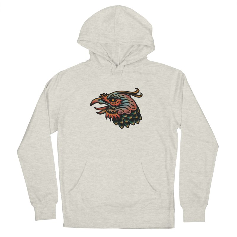 Crow spirit Men's French Terry Pullover Hoody by barmalisiRTB
