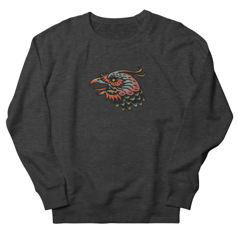 Crow spirit Women's French Terry Sweatshirt by barmalisiRTB