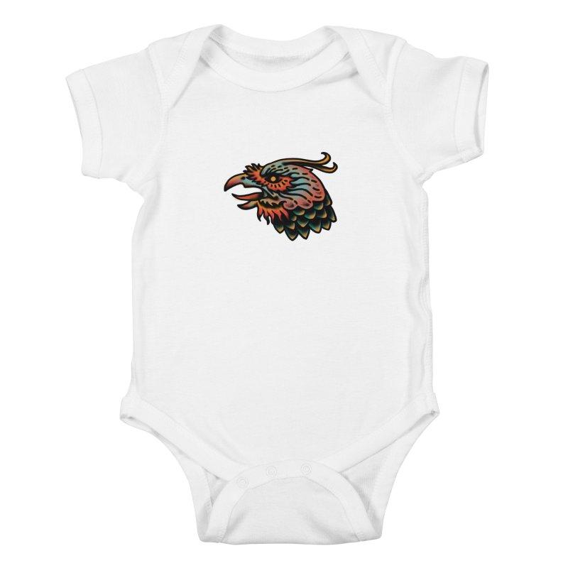 Crow spirit Kids Baby Bodysuit by barmalisiRTB