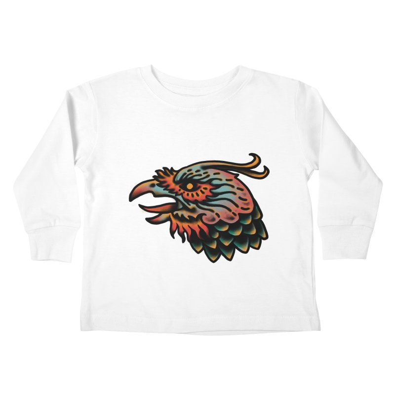 Crow spirit Kids Toddler Longsleeve T-Shirt by barmalisiRTB