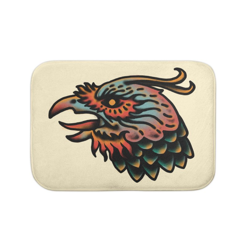 Crow spirit Home Bath Mat by barmalisiRTB