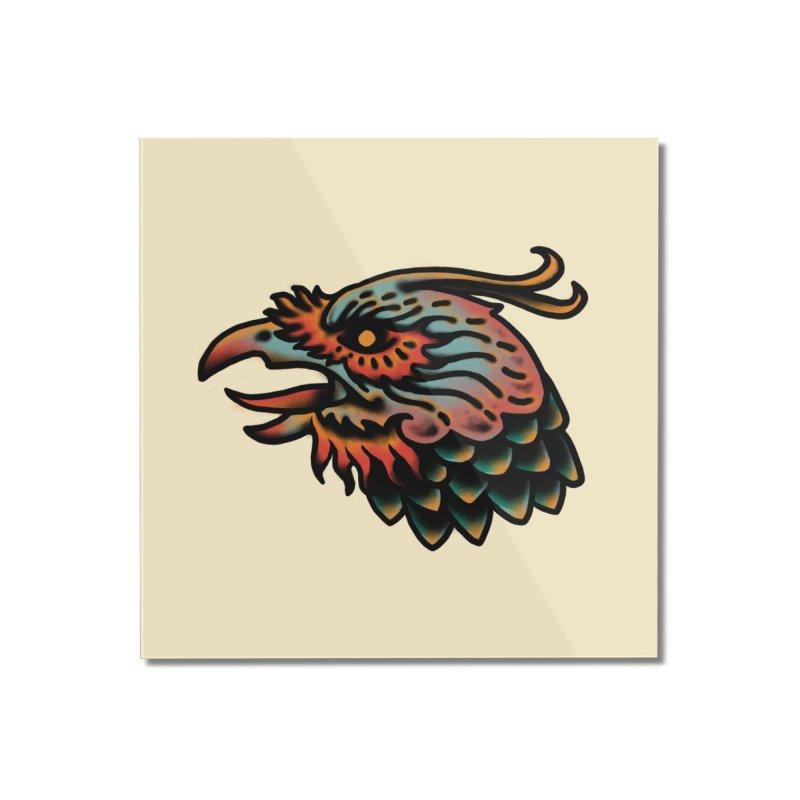 Crow spirit Home Mounted Acrylic Print by barmalisiRTB