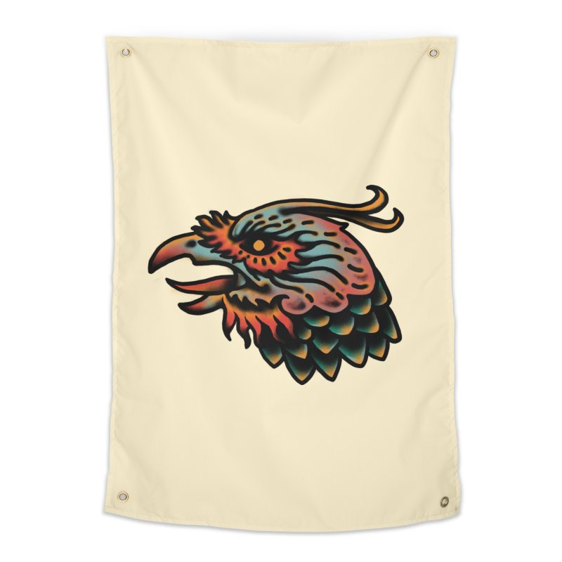 Crow spirit Home Tapestry by barmalisiRTB