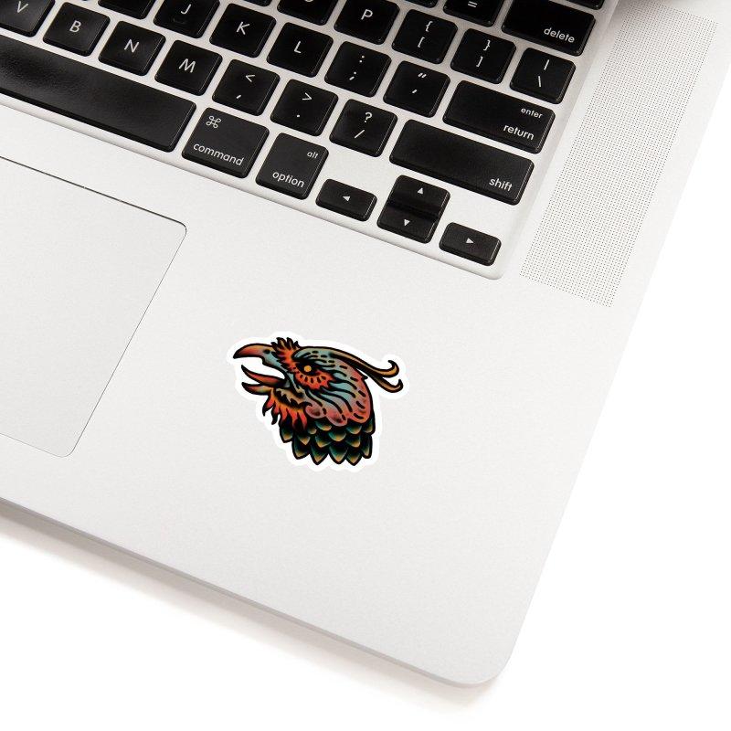 Crow spirit Accessories Sticker by barmalisiRTB