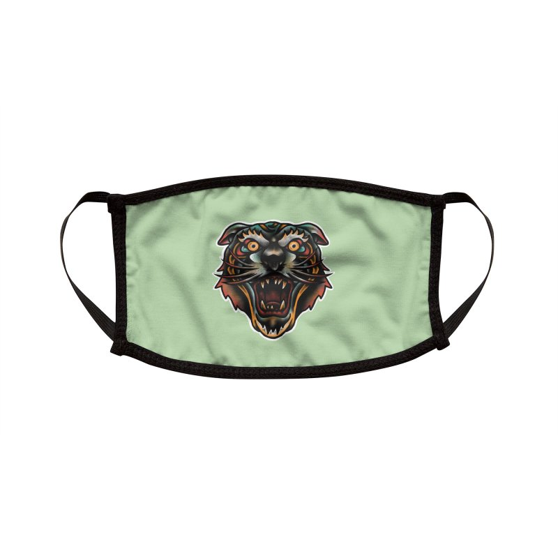 Tiger fighter Accessories Face Mask by barmalisiRTB