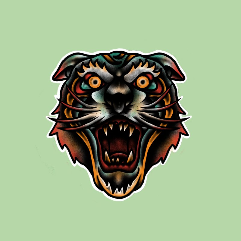 Tiger fighter Accessories Sticker by barmalisiRTB