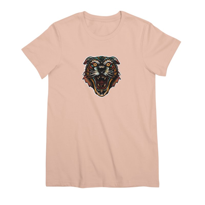 Tiger fighter Women's Premium T-Shirt by barmalisiRTB