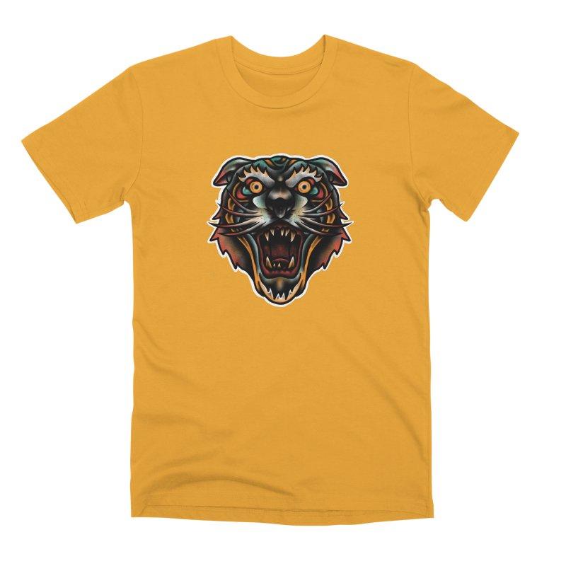 Tiger fighter Men's Premium T-Shirt by barmalisiRTB