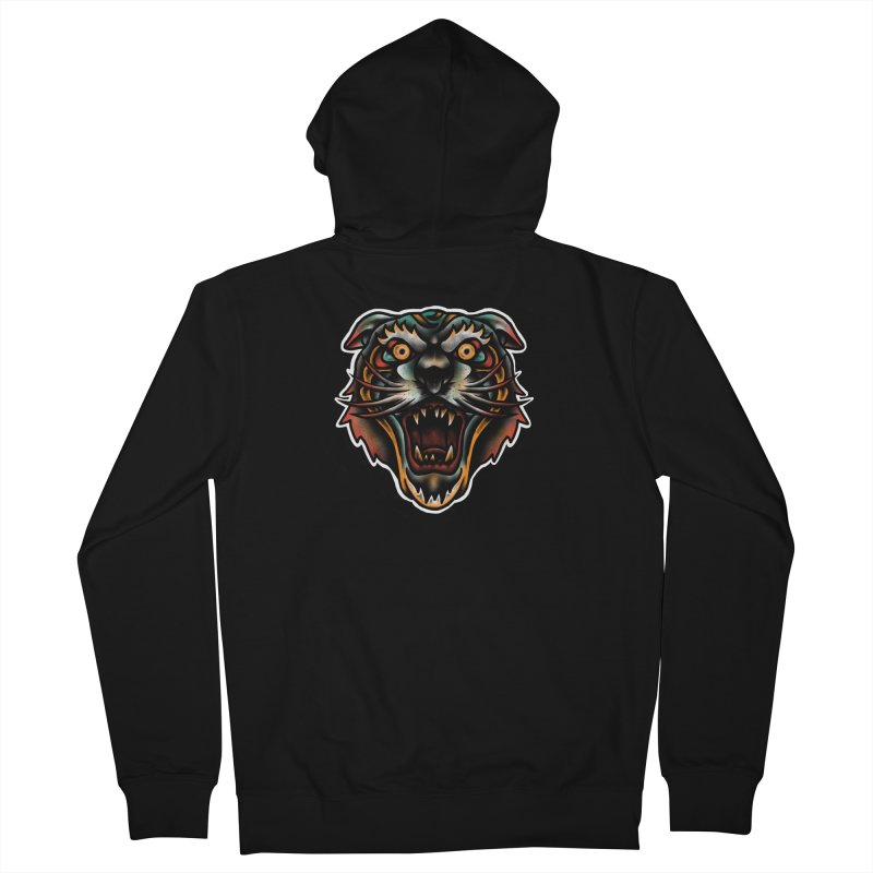 Tiger fighter Women's Zip-Up Hoody by barmalisiRTB