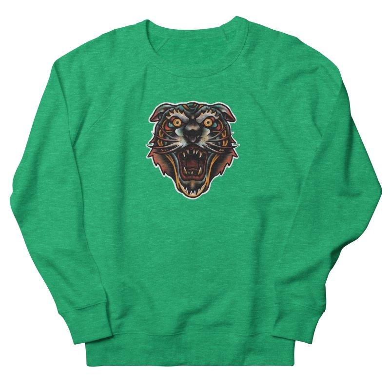 Tiger fighter Women's Sweatshirt by barmalisiRTB