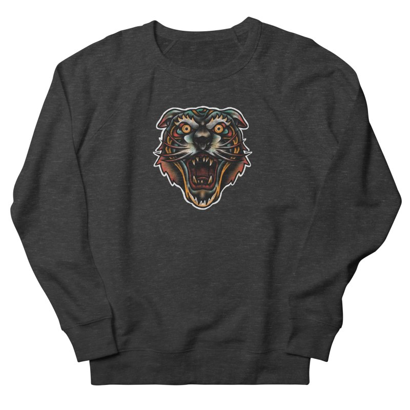 Tiger fighter Women's Sweatshirt by barmalisiRTB