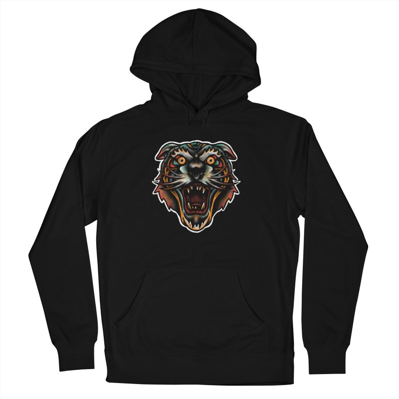 Tiger fighter Men's French Terry Pullover Hoody by barmalisiRTB