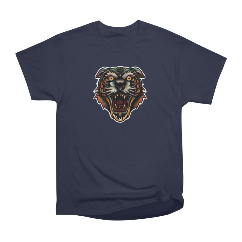Tiger fighter Men's Heavyweight T-Shirt by barmalisiRTB